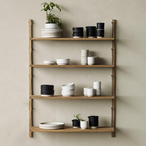 FRAMA SHELF Library H115 Single Section Light Oak