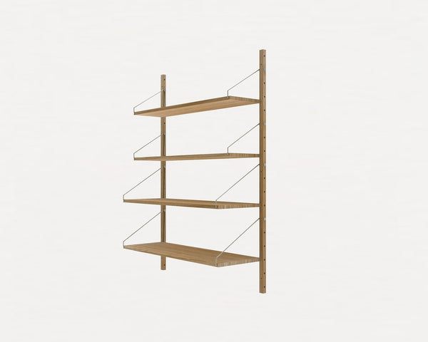 FRAMA SHELF Library H115 Single Section Natural Oak