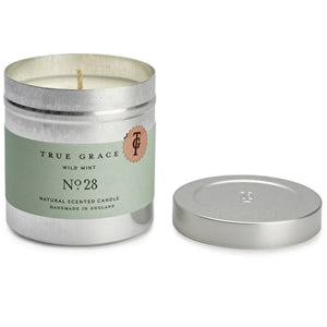 True Grace duftlys - Wild Mint Tin Candle