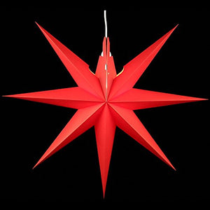 Handmade Window Star - Red