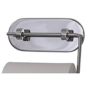 Toiletrulleholder med sugekop / Suction cup toilet paper holder