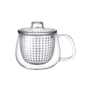 Kinto S UNIMUG Tekop med filter / teacup with filter