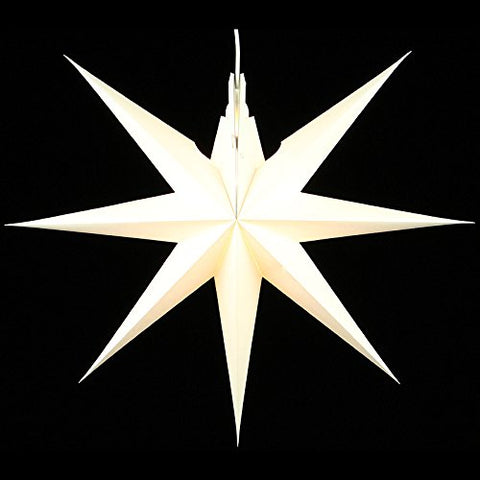Handmade Window Star - White