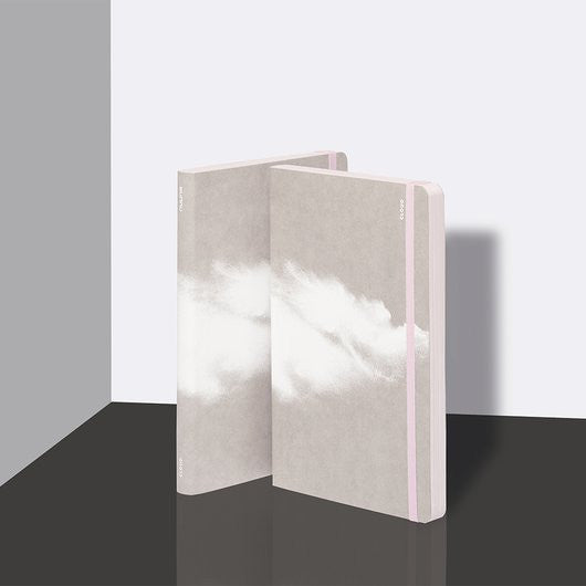 Inspiration Clouds - Pink - Notebook