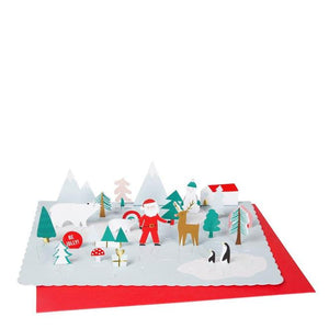 Pop-up Santa Advent Calender