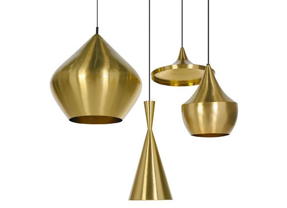 Tom Dixon Beat Light Wide fat, beat tall  lampe i metal  køb  i areastore