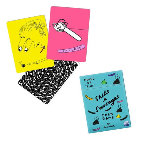 David Shrigley Sh*ts & Sausages Snap Card Game