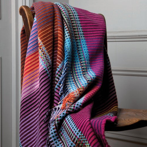 Wallace Sewell Pinstripe Emmeline Throw