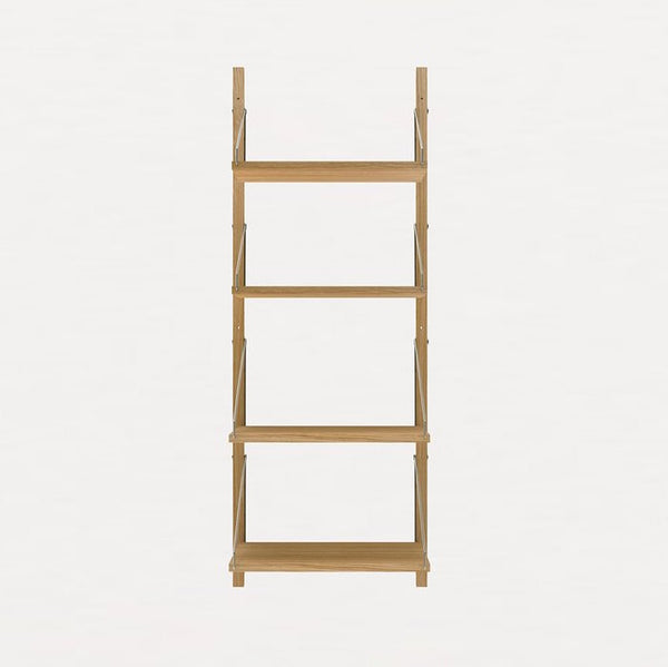 FRAMA SHELF Library H115 / W40 Section Natural Oak