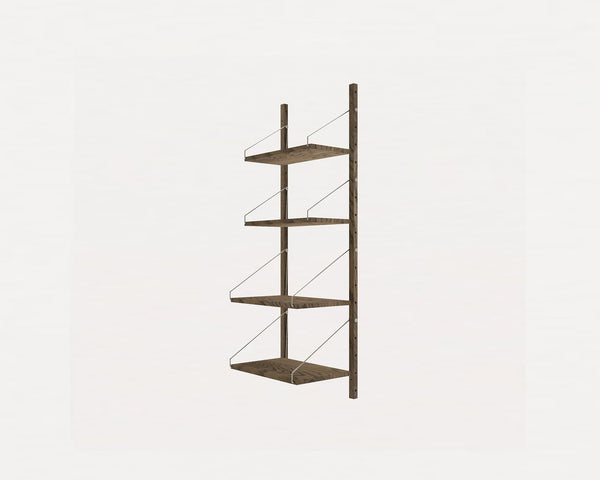 FRAMA SHELF Library H115 / W40 Section Dark Oak