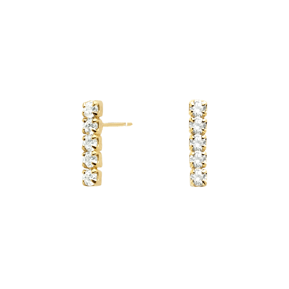 PD Paola Kira Gold Earrings