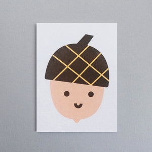 Scout Edition - Acorn Mini Card Risoprint