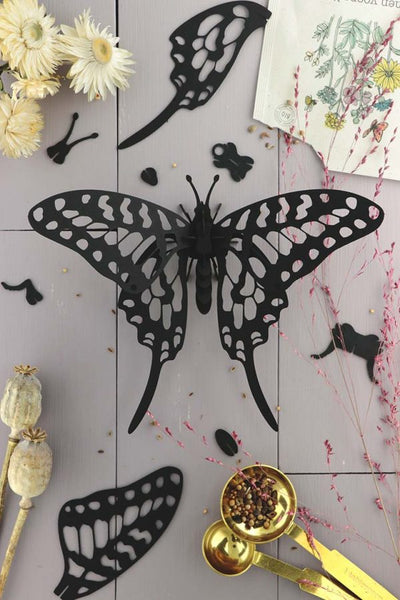 3D Entomology Insect Puzzle - Black edition