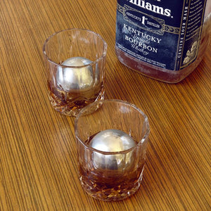Kikkerland - Stainless Steel Whiskey Balls