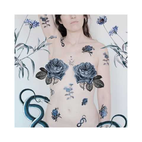 Ephemeral Tattoos - BLUE VALLEY