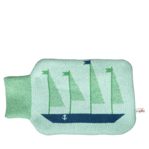 Donna Wilson Hot Water Bottle - Message in a Bottle - udsolgt/sold out