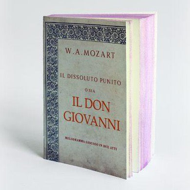 Slow Design Libri Muti Pocket - Don Giovanni