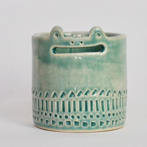 Mini Wide Mouth Frog Pot
