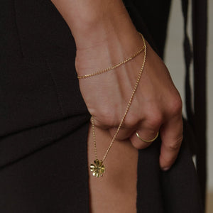 AYM Anuli Four Clover Gold Necklace