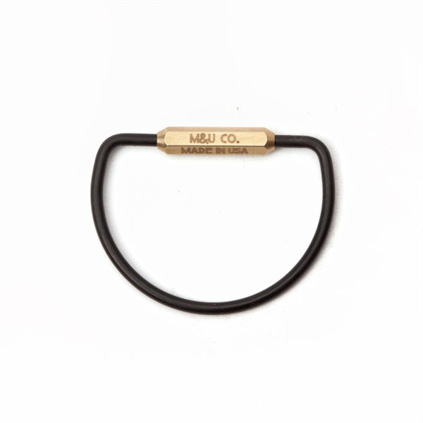 M&U Co. MBO Messing nøglering / MBO Brass Keyring - sold out