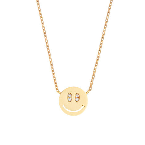 Estella Bartlett - Big Grin Emoji Necklace