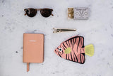 Don Fisher Green Batfish (Filamentoso Rosa) Purse with keyring