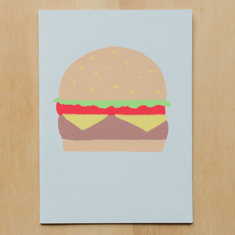 Gold Teeth Brooklyn - Cheeseburger card