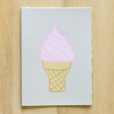 Gold Teeth Brooklyn - Ice Cream card