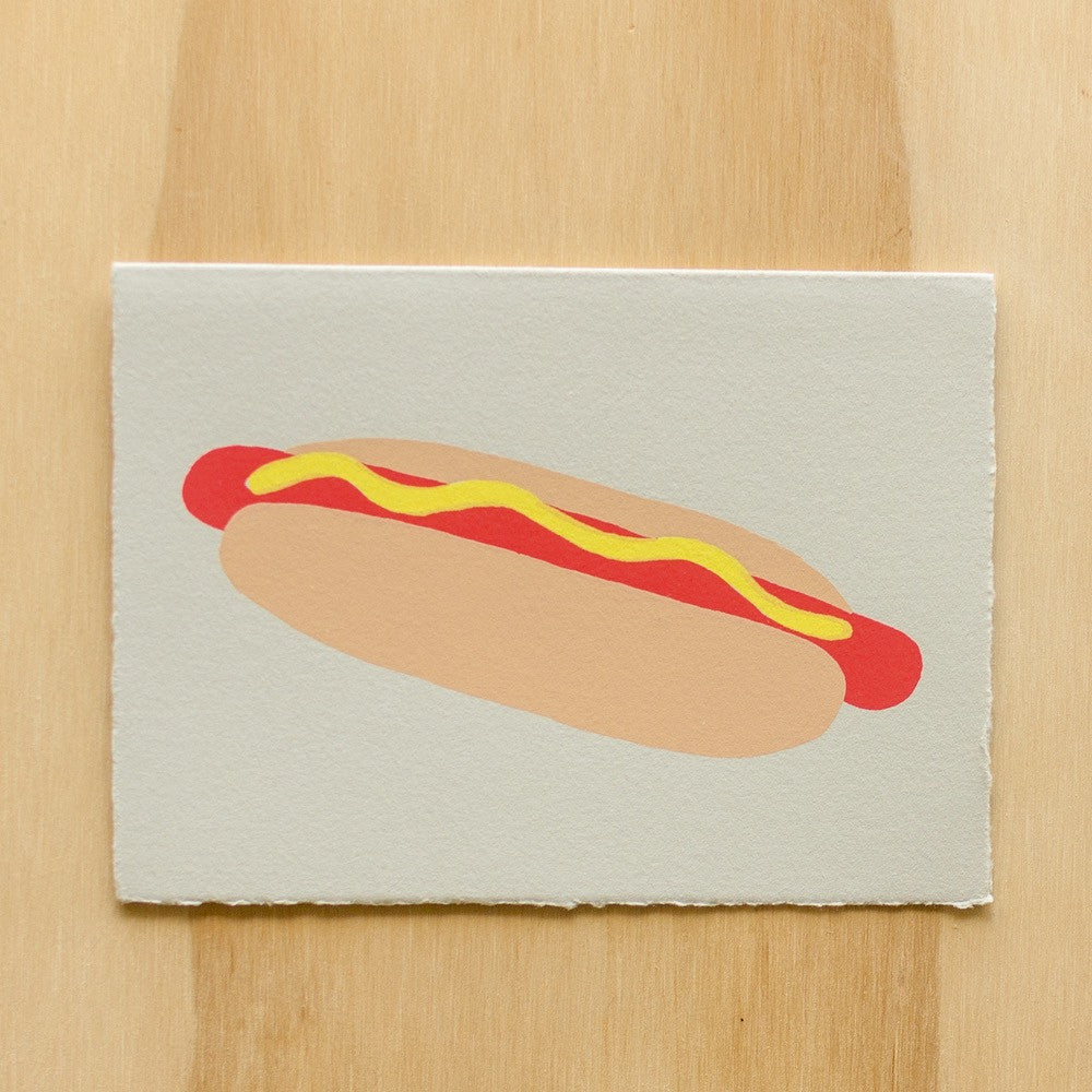 Gold Teeth Brooklyn - Hot Dog card