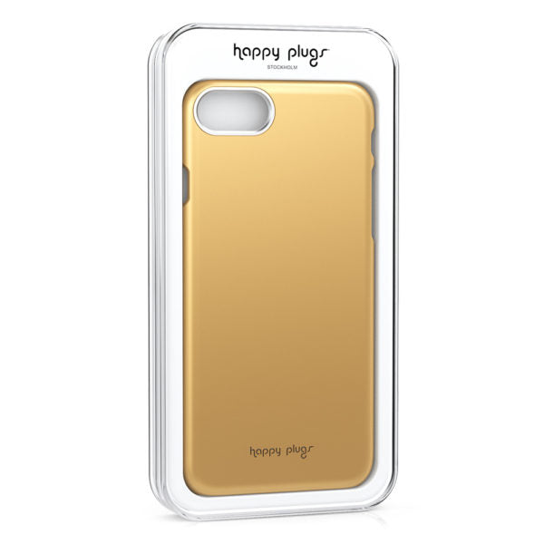 Happy Plugs Iphone 7/8 Slim Case - Gold