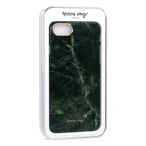 Happy Plugs Iphone 7/8 Slim Case - Green Marble pt udsolgt/ pt sold out