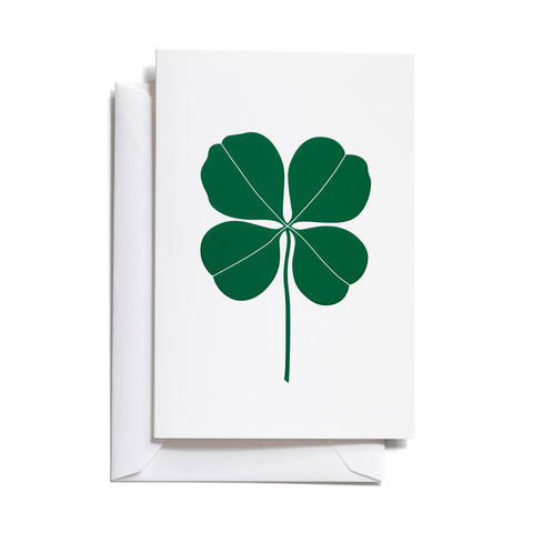 Vitra Four Leaf Clover Greeting Card