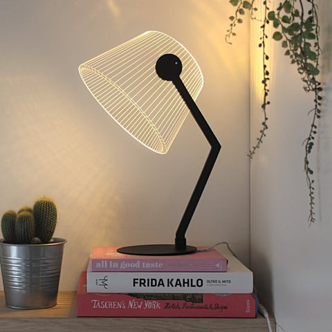 Ziggi lampe / lamp - black