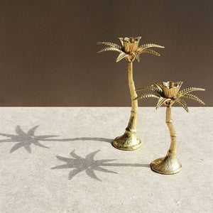 Palm Tree Candleholder - Small