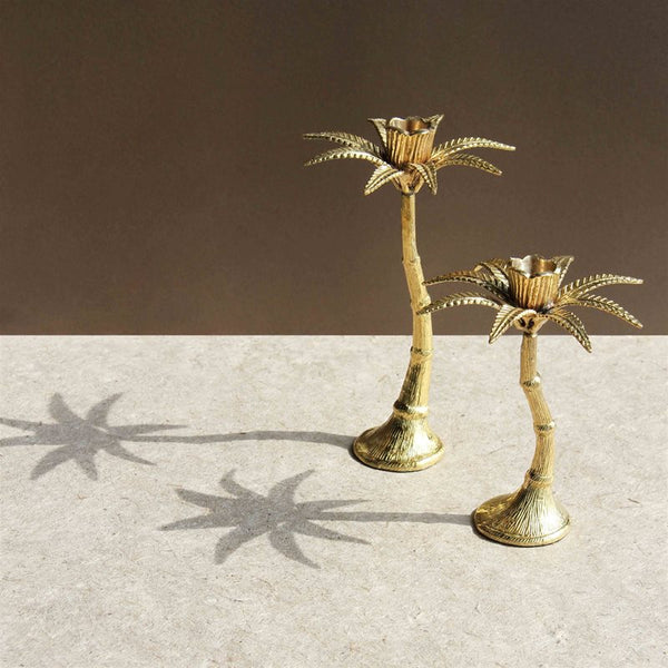 Palm Tree Candleholder - Large