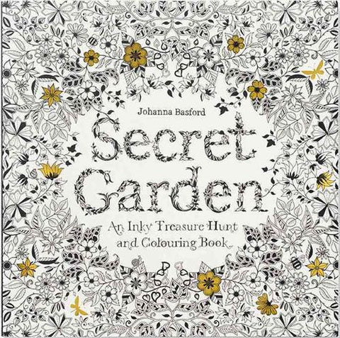 Secret Garden - colouring book by Johanna Basford