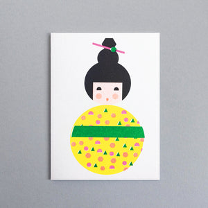 Scout Edition - Kokeshi Mini Card Risoprint
