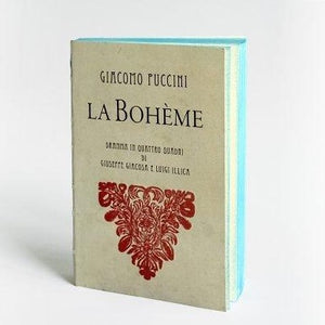 Slow Design Libri Muti Pocket - La Boheme