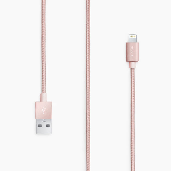 Le Cord Charge & Sync Cable - Rose Gold 1,2 meter