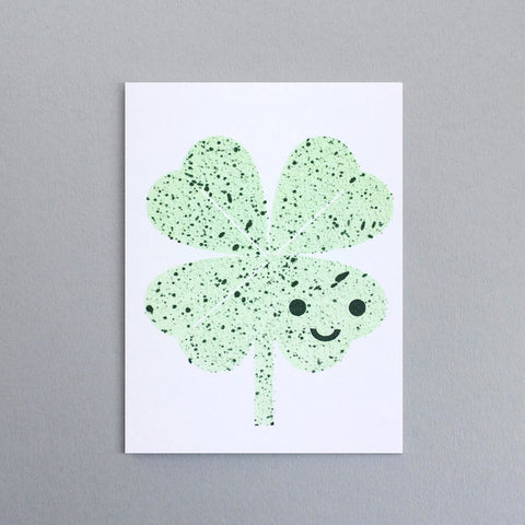 Scout Edition - Four Clover Mini Card Risoprint