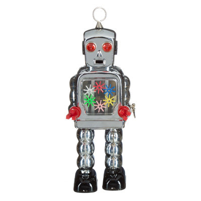 Tin Robot - High-Wheel radar, chrome