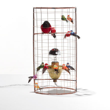 Bird Cage Mini Voliere bordlampe / table lamp
