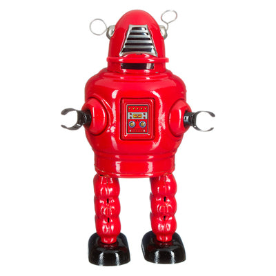 Tin Robot - Robby Planet visor red