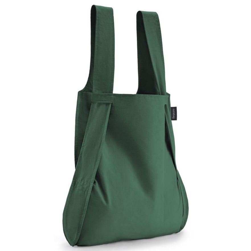 Notabag - Bag and Backpack - Forest Green