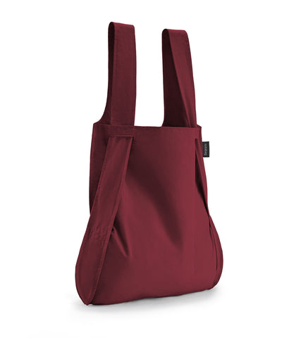Notabag - Bag and Backpack - Wine Red