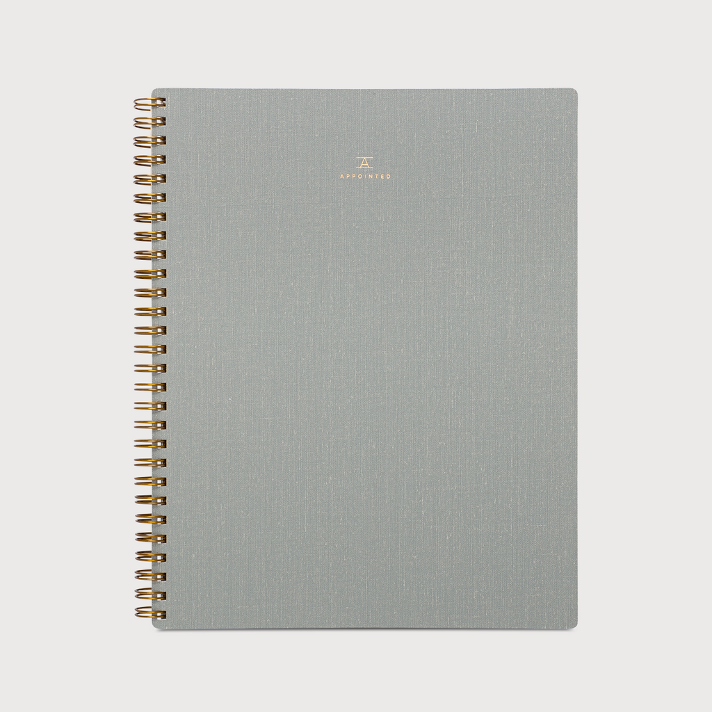 Appointed Washington- Linen Notebook