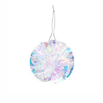 Iridescent Ball Ornaments