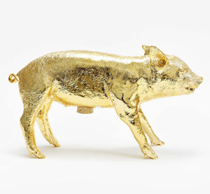 Reality Bank in the Form of a Pig - Gold