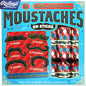 Moustache Crackers