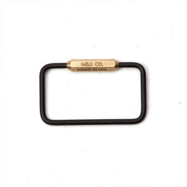M&U Co. MBO Messing nøglering / MBO Brass Keyring- sold out